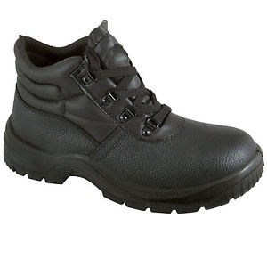 Chukka Safety Work Boots (Leather Steel Toe Cap   Midsole Size 3-13 ... 3a184c497c06